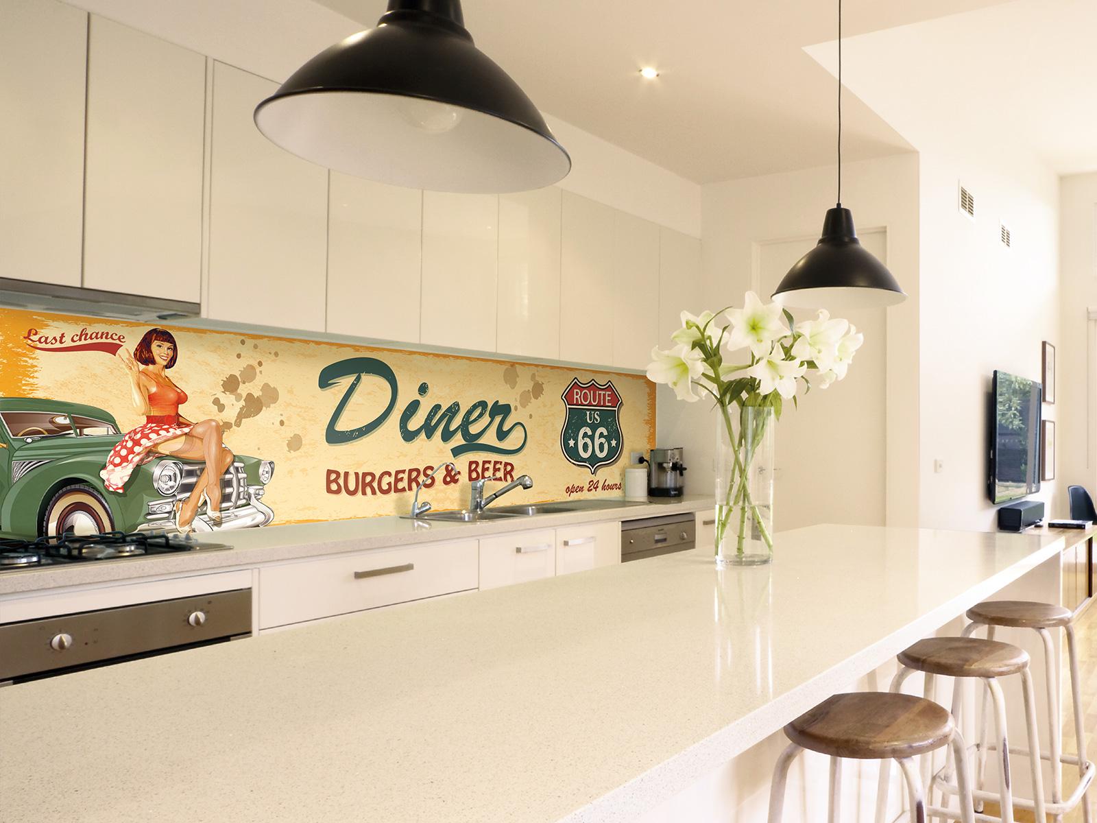 Cr dence cuisine design mural decor - Credence design cuisine ...