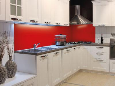 credence cuisine couleur unie