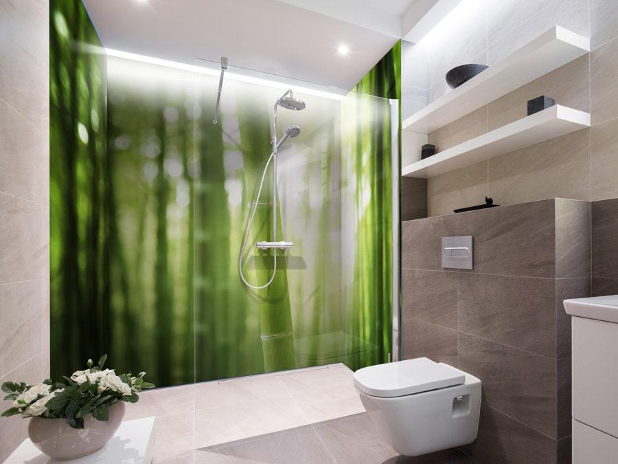 panneaux de douche matiere