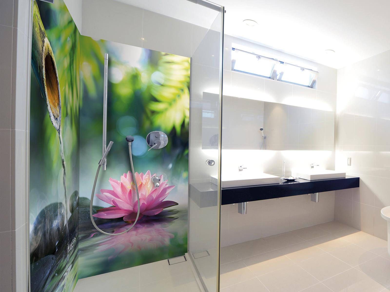 panneaux de douche zen